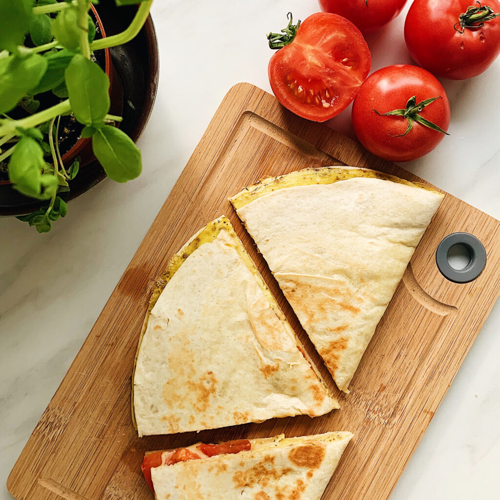 omlet w tortilli